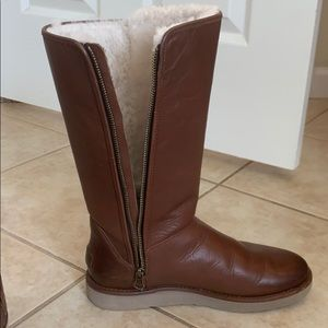 UGG Shoes - Ugg Classic Tall Genuine Leather boots